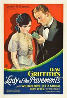 Lady of the Pavements - Movie Poster (xs thumbnail)
