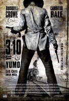 3:10 to Yuma - Slovenian Movie Poster (xs thumbnail)