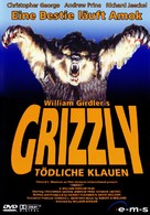 Grizzly - German DVD movie cover (xs thumbnail)