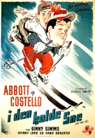 Hit the Ice - Danish Movie Poster (xs thumbnail)