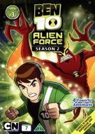 """Ben 10: Alien Force"" - Danish DVD movie cover (xs thumbnail)"