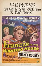 Francis in the Haunted House - Movie Poster (xs thumbnail)