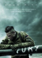 Fury - French Movie Poster (xs thumbnail)