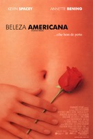 American Beauty - Brazilian Movie Poster (xs thumbnail)