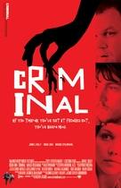 Criminal - British Movie Poster (xs thumbnail)