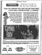 Carmen, Baby - poster (xs thumbnail)