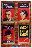 Love in the Afternoon - Argentinian Movie Poster (xs thumbnail)