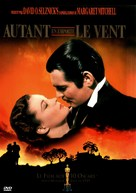 Gone with the Wind - French DVD cover (xs thumbnail)