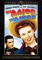 The Major and the Minor - DVD cover (xs thumbnail)