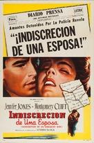 Stazione Termini - Argentinian Movie Poster (xs thumbnail)