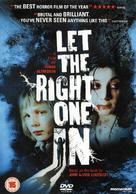 Låt den rätte komma in - British DVD movie cover (xs thumbnail)
