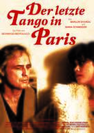 Ultimo tango a Parigi - German Movie Poster (xs thumbnail)