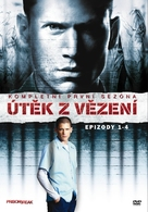 """""""Prison Break"""" - Czech DVD movie cover (xs thumbnail)"""