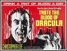Taste the Blood of Dracula - British Movie Poster (xs thumbnail)