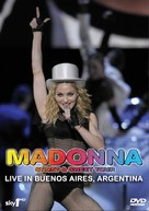 Madonna: Sticky & Sweet Tour - British DVD cover (xs thumbnail)