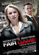Fair Game - Italian Movie Poster (xs thumbnail)