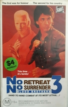 No Retreat, No Surrender 3: Blood Brothers - Australian Movie Cover (xs thumbnail)