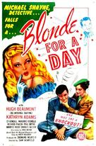 Blonde for a Day - Movie Poster (xs thumbnail)