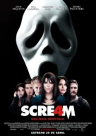 Scream 4 - Spanish Movie Poster (xs thumbnail)