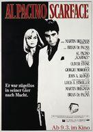 Scarface - German Movie Poster (xs thumbnail)