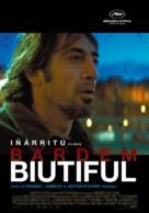 Biutiful - Lithuanian Movie Poster (xs thumbnail)