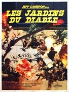 I giardini del diavolo - French Movie Poster (xs thumbnail)