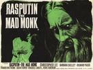 Rasputin: The Mad Monk - British Movie Poster (xs thumbnail)