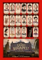 The Grand Budapest Hotel - Dutch Movie Poster (xs thumbnail)