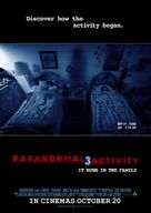 Paranormal Activity 3 - New Zealand Movie Poster (xs thumbnail)