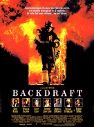 Backdraft - French Movie Poster (xs thumbnail)