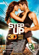 Step Up 3D - German Movie Poster (xs thumbnail)