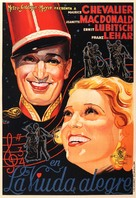 The Merry Widow - Spanish Movie Poster (xs thumbnail)