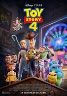 Toy Story 4 - Malaysian Movie Poster (xs thumbnail)