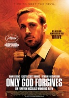 Only God Forgives - German Movie Poster (xs thumbnail)