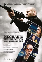 Mechanic: Resurrection - Malaysian Movie Poster (xs thumbnail)