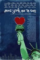 New York, I Love You - Brazilian Movie Poster (xs thumbnail)