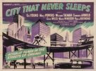 City That Never Sleeps - British Movie Poster (xs thumbnail)