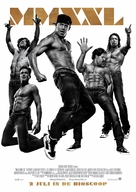 Magic Mike XXL - Dutch Movie Poster (xs thumbnail)