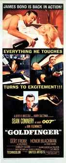 Goldfinger - British Movie Poster (xs thumbnail)