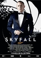Skyfall - Slovak Movie Poster (xs thumbnail)