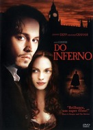 From Hell - Brazilian DVD movie cover (xs thumbnail)