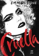 Cruella - French Movie Poster (xs thumbnail)