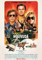 Once Upon a Time in Hollywood - Latvian Movie Poster (xs thumbnail)