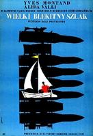 La grande strada azzurra - Polish Movie Poster (xs thumbnail)