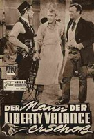 The Man Who Shot Liberty Valance - German poster (xs thumbnail)