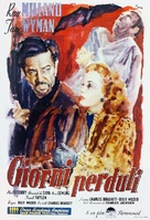 The Lost Weekend - Italian Theatrical poster (xs thumbnail)