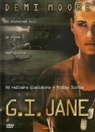 G.I. Jane - Czech DVD cover (xs thumbnail)