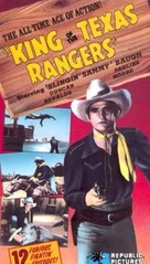 King of the Texas Rangers - VHS cover (xs thumbnail)