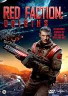 Red Faction: Origins - Dutch DVD cover (xs thumbnail)