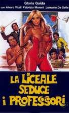 La liceale seduce i professori - Italian VHS movie cover (xs thumbnail)